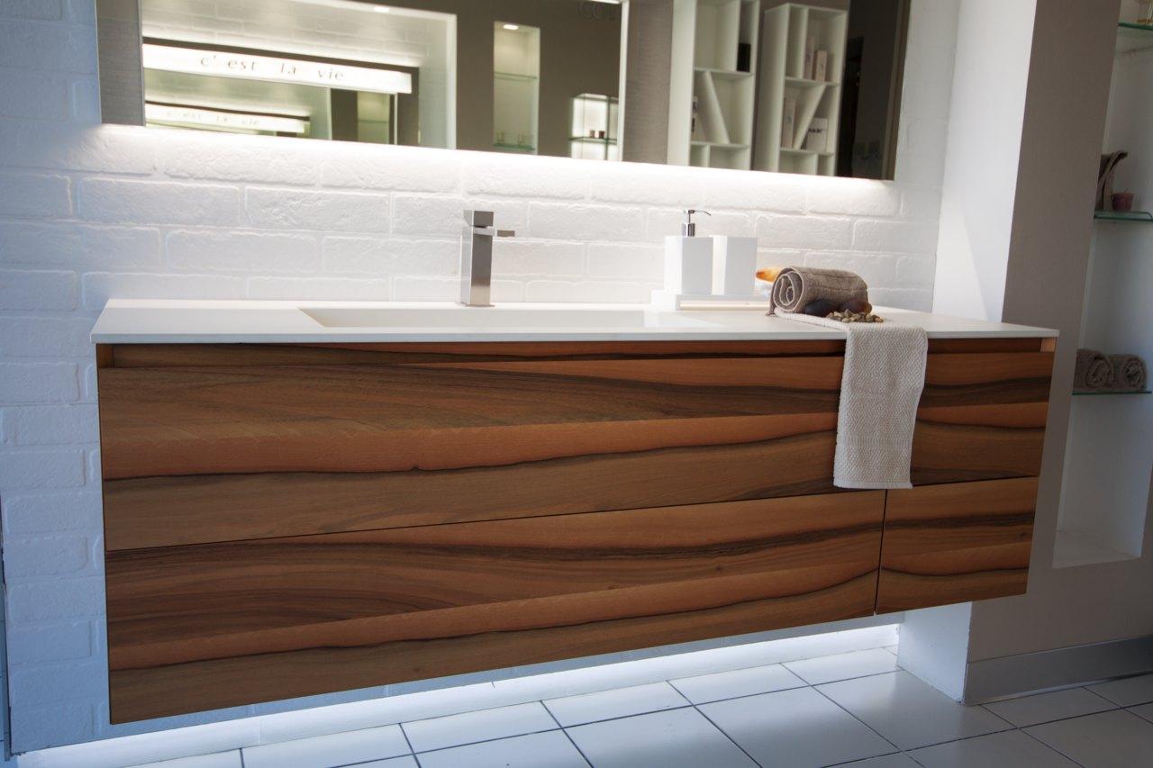 mobile bagno essenza legno